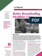 Better Breastfeeding, Healthier Lives