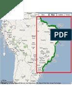 Biomas Brasileiros - Zonas Costeiras