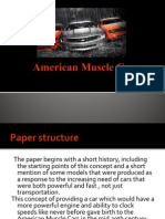 American Muscle Cars Atestat