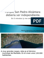 San Pedro Merece Ser Libre
