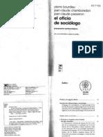 3. P. Bourdieu. El oficio sociológo (b y n)