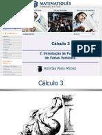 Funções de várias variáveis - Parte 1