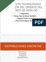 Expo Distribuciones Discretas