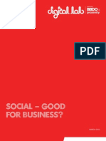Social--Good for Business?