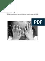 Violenta in Familie - Efecte Asupra Dezvoltarii Copiilor