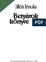 Kullős-Imola-Betyarok-konyve