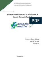 Observare Farmacia Familiei
