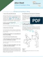 11 Principles of Lifting