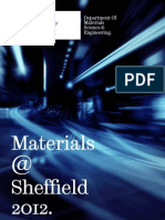 Materials at Sheffield 2012