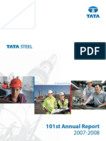 Tata Steel Annual Report 2007-2008