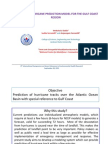 A GIS BASED HURRICANE PREDICTION MODEL FOR THE GULF COAST REGION