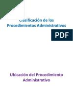 DA-010-2012!10!04 Clasificacion de Los Proced Administrativos