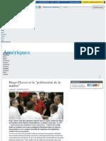 Le Monde Hugo Chavez Misiones