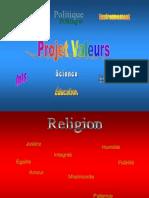 Projet Valeurs