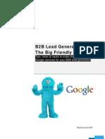 B2B Lead Generation Using the Big Friendly Giant -2009