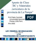 Cbc Polimodal de La Provincia de La Pampa