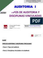 SEM 2 -Tipos de Auditoria y Disciplinas Vinculadas