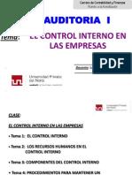 SEM 6 -El Control Interno