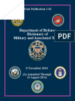 Military Vocabulary English