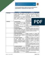 Criterios 2012 de Revistas