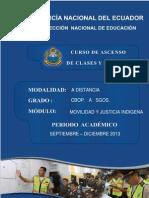 Modulo No. 2 Movilidad y Justicia Indigena-22!03!2013