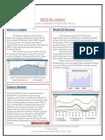 2013 Oil Market