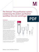 The Amicon® Pro purification system