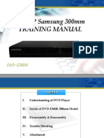 Training Manual DVD-E360.En