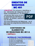 20871846 MC401 Elementos de Maquina Clases de Todo El Ciclo