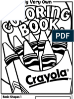Crayola Coloring Book