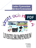 Idrott och Hälsa A, Livsstilskompendium 081124