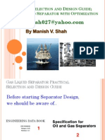 2-TWO Phase Separator Design Guide by Manish Shah