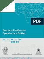Guia Plan if Icac i on Opera Tiva