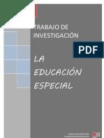 La Educacion Especial