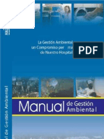 MANUAL DE GESTIÓN AMBIENTAL - HOSPITAL PABLO TOBON URIBE