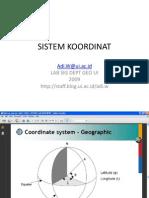 Sistemkoordinat New