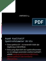 V. Aspek Kualitatif Dan Kuanti Spektrofotometer UV-Vis