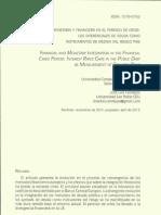 INTEGRACIÓN MONETARIA Y FINANCIERA EN EL PERIODO DE CRISIS. LOS DIFERENCIALES DE DEUDA COMO INSTRUMENTOS DE MEDIDA DEL RIESGO PAÍS.