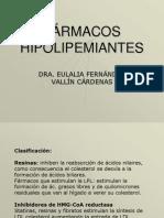 FÁRMACOS HIPOLIPEMIANTES