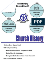 Church History - 1 Intro