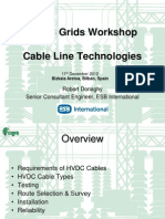 06 HVDC Cable Line Technologies - ROBERT DONAGHY (ESB International)