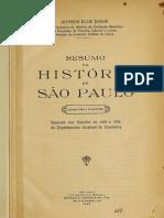Ellis Jr. - Resumo da história de São Paulo