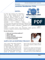 Informativo Asamblea Residentes Chile