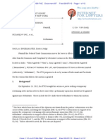 12 Civ. 7189 FTC v. PCC Order Re Service