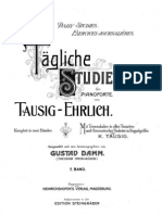 Tausig Studies for Piano Technique