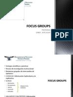 Investigacicón - Focus Groups