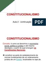 2013 Aula 2 Constitucionalismo