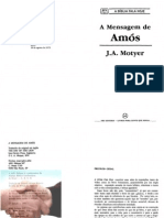 A Mensagem de Amós - J.A. Motyer