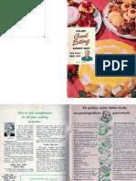 Good Eating - Spry Cookbook - Vintage 1949 - Part 1