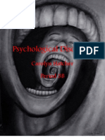 Psychological Disorders Booklet